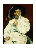 Portrait of a Gentleman, 1876 Giclee Print by Jean Francois Raffaelli