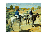 Companions Giclee Print by Walter Ufer
