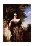 Portrait of Mrs. J. Hardcastle, Nee Anne Capper (1817-1882), 1846 Giclee Print by Abraham Solomon