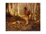 Lone Hunter Giclee Print by Eanger Irving Couse