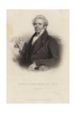 Reverend Ebenezer Henderson Giclee Print by Henry Room