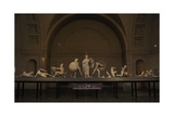 Aegina West Pediment. 500-490 BC. Temple of Aphaia. Greece Giclee Print