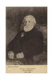Ivan Turgenev, Russian Novelist, Short Story Writer and Playwright Giclee Print by Ilya Efimovich Repin