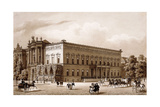 Unter Den Linden, Berlin. the Palace of Prince Wilhelm, Built by Karl Langhans in 1834-36, and… Giclee Print by Karl Loeillot-Hartwig
