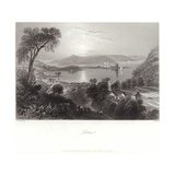 Larne in County Antrim Giclee Print by William Henry Bartlett