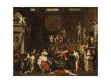 The Death of Cleopatra Giclee Print by Gerard Hoet