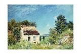 The Abandoned House; La Maison Abandonee, 1887 Giclee Print by Alfred Sisley