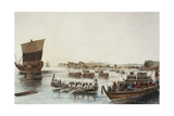 Passing the Rubicon, C.1853 Giclee Print by Wilhelm Heine