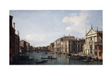 The Grand Canal, Venice, Looking South-East from San Stae to the Fabbriche Nuove Di Rialto Giclee Print by  Canaletto