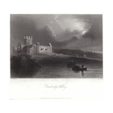 Dunbrody Abbey in County Wexford Giclee Print by William Henry Bartlett
