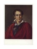 Portrait of Krasheninnikov, 1824 Giclee Print by Vasili Andreevich Tropinin