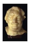 Head of Balzac; Tete De Balzac, 1892 Giclee Print by Auguste Rodin