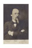 Nikolay Nekrasov, Russian Poet Giclee Print by Ivan Nikolaevich Kramskoy