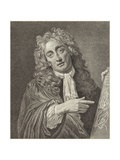 Portrait of Willem Hondius Giclee Print by Willem Hondius