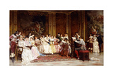 The Concert Giclee Print by Joseph Frederic Soulacroix