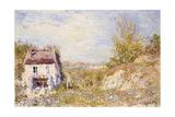 The Abandoned House; La Maison Abandonnee, C.1886 Giclee Print by Alfred Sisley