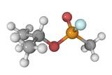 Sarin Nerve Gas Molecule Reproduction photographique par Laguna Design