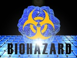 Biohazard, Conceptual Artwork Photographic Print by Laguna Design