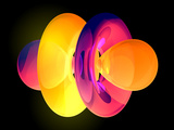 4fz3 Electron Orbital Photographic Print by Laguna Design