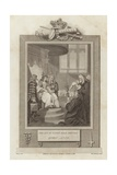 The Act of Union Read before Queen Anne Giclee Print by Mather Brown