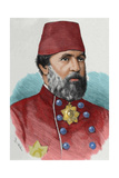 Augustus Charles Hobart-Hampden (1822 AI 1886). Was an English Naval Captain and Ottoman… Giclee Print by Arturo Carretero y Sánchez