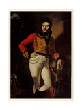 Portrait of Yevgraf Davydov, 1809 Giclee Print by Orest Adamovich Kiprensky