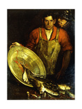 Fish Mongers Giclee Print by Charles Webster Hawthorne