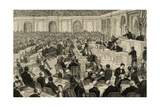 United States. Washington. Session of the National Congress to Verify the Counting of the… Giclee Print by Andres Ovejero
