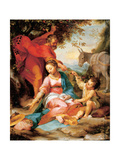 The Rest on the Return from Egypt Giclee Print by Federico Fiori Barocci or Baroccio