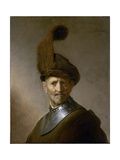 An Old Man in Military Costume (Formerly Called Portrait of Rembrandt's Father), C.1630 Giclee Print by  Rembrandt van Rijn