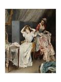 La Toilette, C.1890-1900 Giclee Print by Raimundo De Madrazo Y Garetta