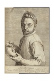 Portrait of Giovanni Gabrielli Giclee Print by Agostino Carracci