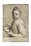 Portrait of Giovanni Gabrielli Giclee Print by Agostino Carracci