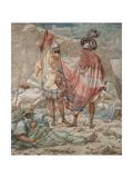Mercy: David Spareth Saul's Life, 1854 Giclee Print by Richard Dadd
