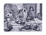 The Massacre of St Brice's Day Ad1002, 1920's Giclee Print by Alfred Pearse