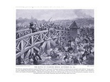 The Battle of Stamford Bridge Ad1066, 1920's Giclee Print by Alfred Pearse