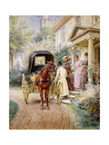 Mrs, 1891 and 1887 Giclee Print by Edward Lamson Henry