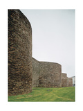 Spain. Galicia. Lugo. Roman Walls. 3rd Century Giclee Print