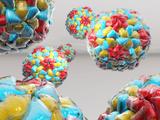 Rhinovirus Particles Poster by Laguna Design