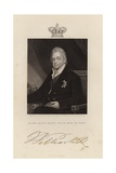 His Most Gracious Majesty William Henry Iv Giclee Print by Henry Dawe