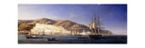Alger Harbour Giclee-trykk av Antione Leon Morel-Fatio