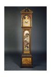 A Late 19th Century Pedimented Longcase Clock Extensively (And Possibly Designed) by John Roddam… Giclee Print by John Roddam Spencer Stanhope