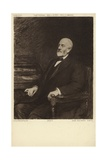 Sir Henry Tate, English Sugar Merchant and Philanthropist Giclée-Druck von Sir Hubert von Herkomer
