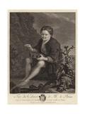 The Rat-Catcher Giclee Print by Pieter van Slingelandt