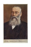 Sir Walter Besant (1836-1901), English Novelist and Historian Giclee Print by Cecil Watson Quinnell