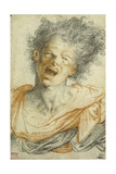 A Young Man Shouting; Un Jeune Homme Hurlant Giclee Print by Camillo Procaccini