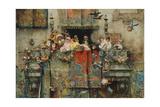 The Carnival in Rome; Il Carnevale Di Roma, 1881 Giclee Print by Jose Benlliure Y Gil