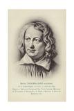 Bertel Thorvaldsen, Danish Sculptor Giclee Print by Christoffer-wilhelm Eckersberg