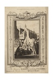 The Manner of Burning Archbishop Cranmer at Oxford Giclee Print by Samuel Wale