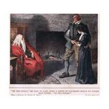 """Ye Two Fools"" Giclee Print by Charles Edmund Brock"